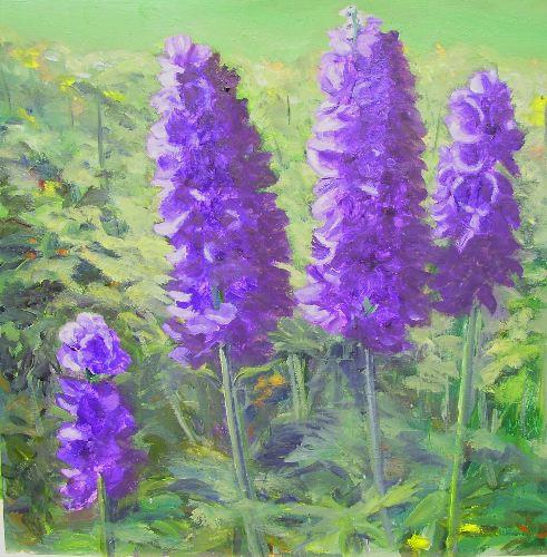 Andrea Doughtie Rural Painter 2007 July